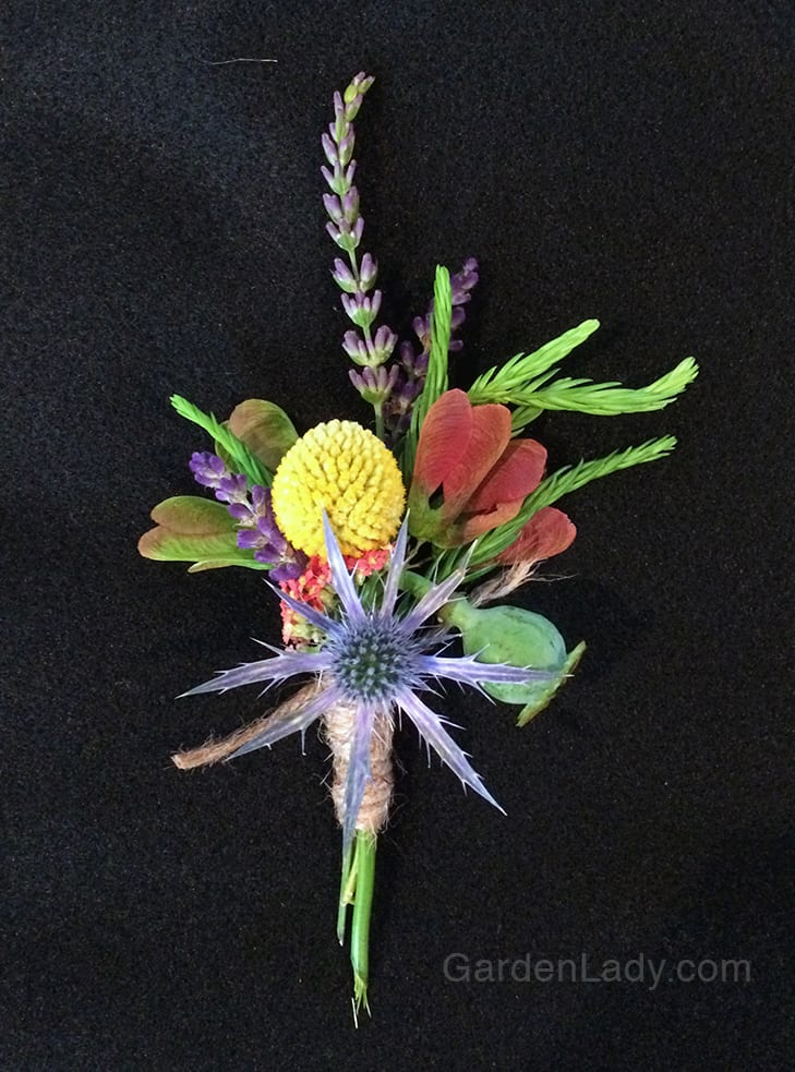 Making Your Garden Boutonnieres